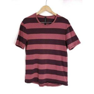 Lululemon Striped Pima Cotton Knit Crewneck Tee